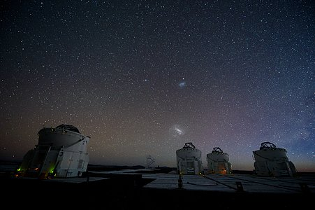 Auxiliary Telescopes in action
