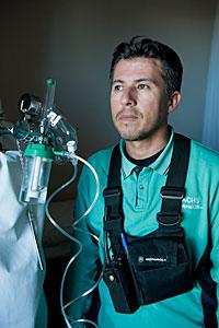 Paramedic Mauricio Mancilla Muñoz
