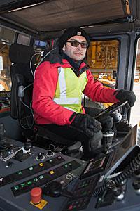 22 wheel transporter operator