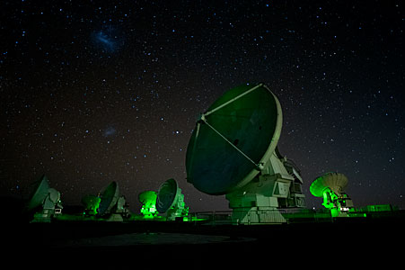 ALMA antenna array