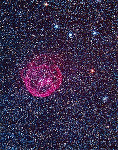 N70 superbubble nebula in the LMC