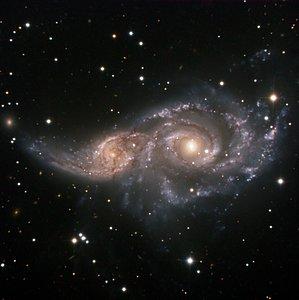 A Cosmic Embrace