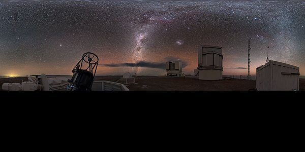 Extended auxiliary observing at Paranal