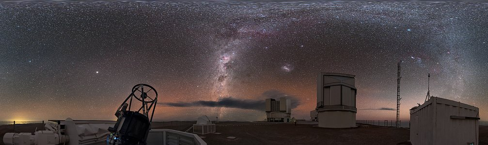 Auxiliary observing at Paranal