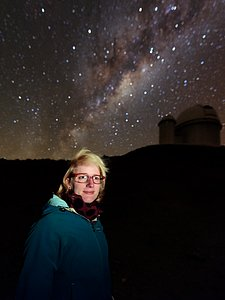 Exoplanet researcher at La Silla