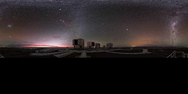 Extended Paranal panorama