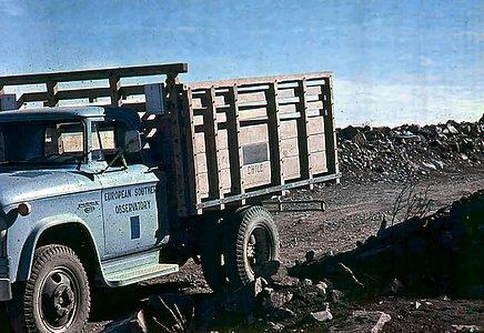 An ESO truck