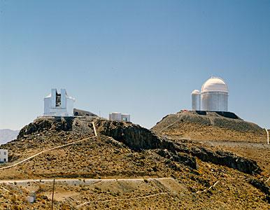 NTT and ESO 3.6-metre telescopes