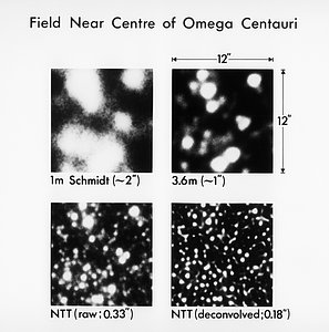 Omega Centauri with the NTT