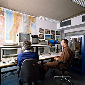The NTT Remote Control Room