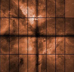 The Carina Nebula with OmegaCAM