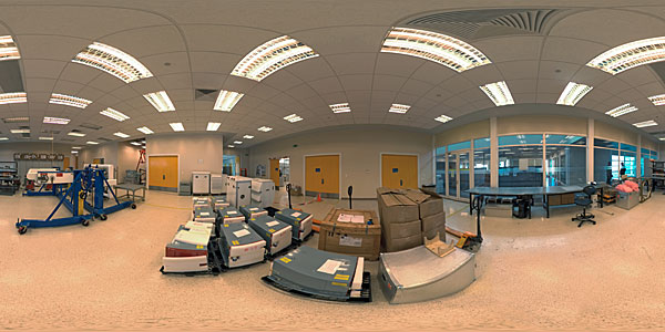 OSF Front End Lab Panorama