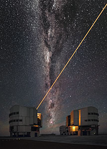 VLT's Laser Guide Star