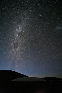 Night at Paranal Observatory