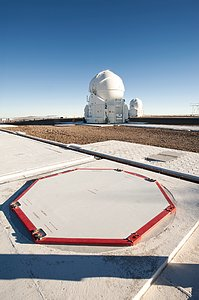 Auxiliary telescopes at ESO's Paranal Observatory