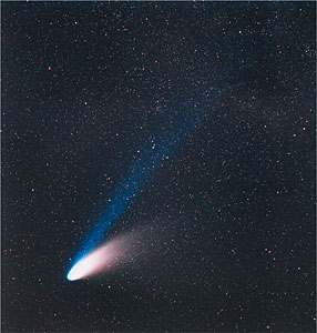 Der Komet Hale-Bopp