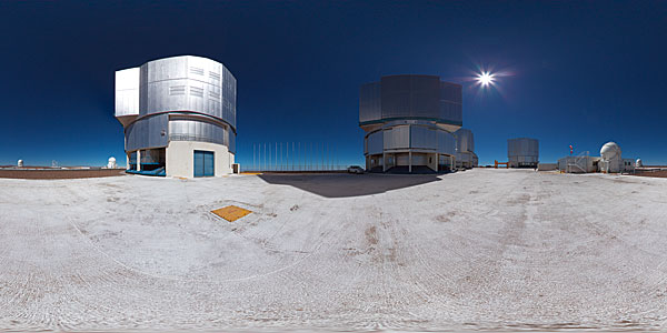 ESO's Very Large Telescope array
