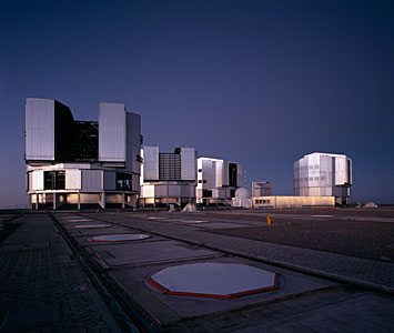 Paranal Platform as Night Sets In