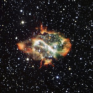 Dying Star Puffs a Cosmic Dragon