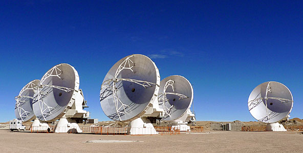 A Quintuplet of ALMA Antennas — And Then There Were Five