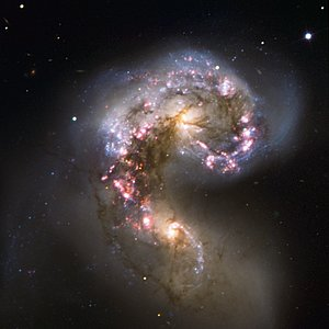 VLT Observes the Antennae Galaxies