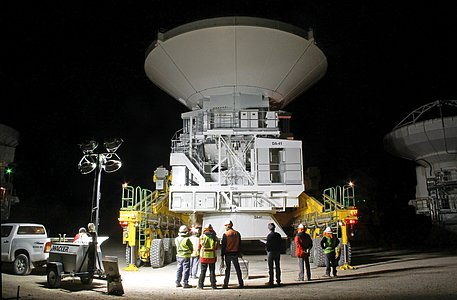 Working at ALMA, Day and Night