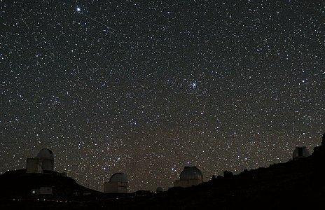 Los dos cazadores de planetas, fotografiados en La Silla