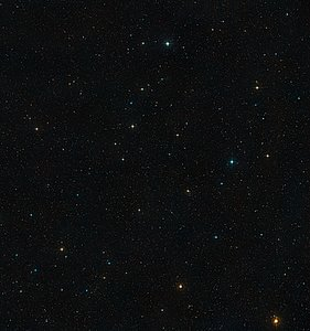A wide-field view of the area around the Abell 901/902 supercluster