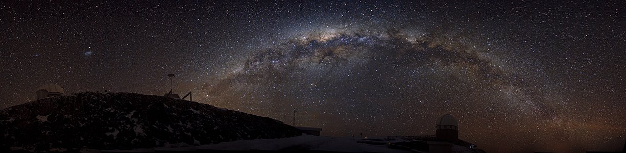 A Sparkling Ribbon of Stars — The Southern Milky Way over La Silla