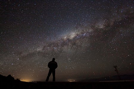 Admirando la galaxia