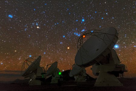 Ancient Constellations over ALMA