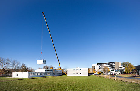 Making Way for Construction of the ESO Supernova