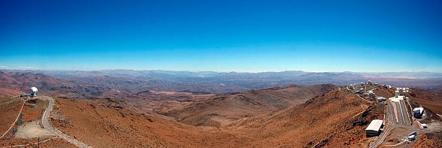 El paisaje marciano de La Silla