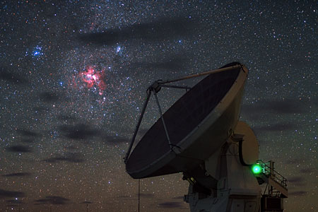 Starbirth over ALMA