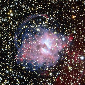 A Planetary Nebula Divided