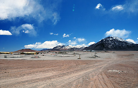 Progress at the ALMA Site