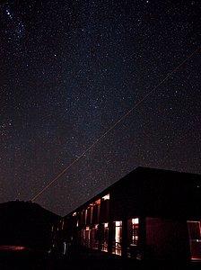 The Paranal Residencia at Night
