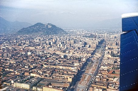 An Aerial View of Santiago