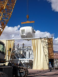 Assembling the ALMA antenna