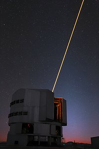 Yepun's Laser Guide Star