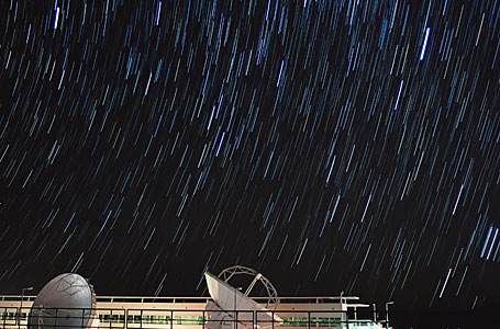 ALMA OSF star trails