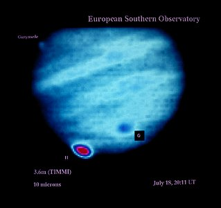 Comet Shoemaker–Levy 9 observations