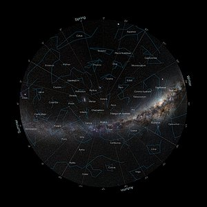 Fish-eye view of the South Pole