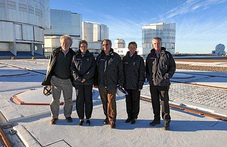 Austrian Delegation visits Paranal