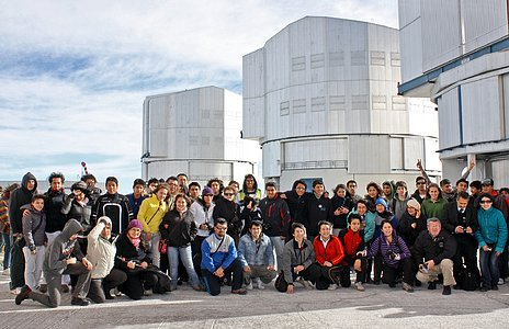 Astronomy Olympics Reaches the Very Large Telescope