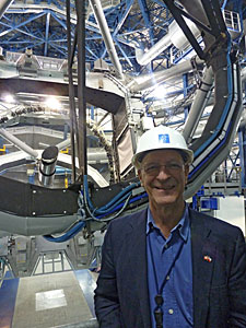Swiss Astronaut Claude Nicollier visits Paranal Observatory