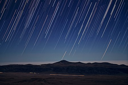 It's Raining Stars on Paranal
