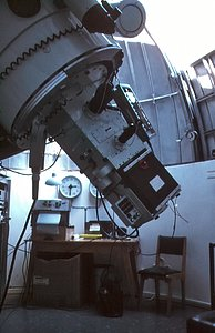 Bochum 0.61-metre telescope and control room