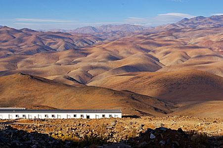 La Silla in the Atacama desert