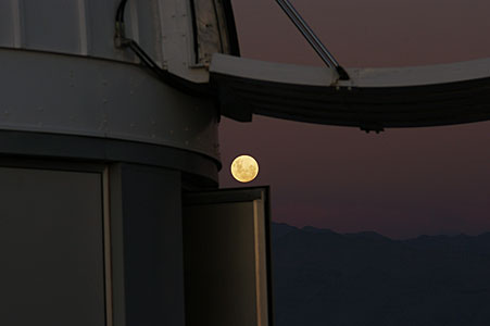 Moon from La Silla